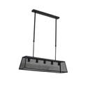 Light & Living Hanglamp 'Faunte' 5-Lamps, gaas mat zwart