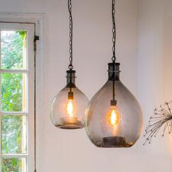 Light & Living Hanglamp 'Gabi', kleur Smoke