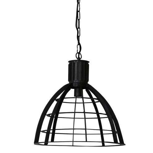 Light & Living Hanglamp 'Imany' 42cm, draad donker brons
