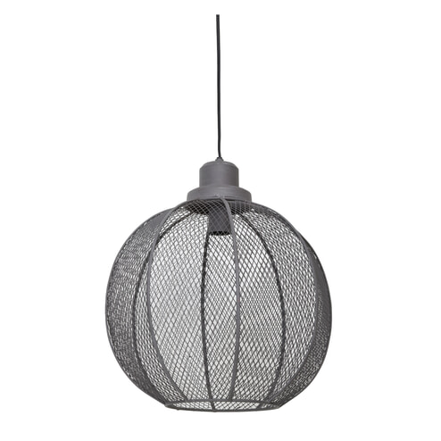 Light & Living Hanglamp 'Indra' 40cm, cement