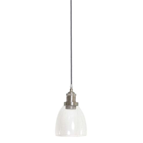 Light & Living Hanglamp 'Ivette' 15cm, kleur nikkel
