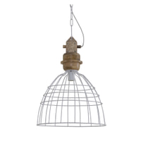 Light & Living Hanglamp 'Joel' 42cm, mat wit