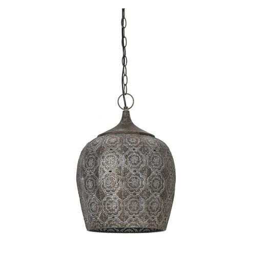 Light & Living Hanglamp 'Kadiri' 31.5cm, bruin goud