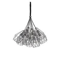 Light & Living Hanglamp 'Kobaka' 20cm, mat tin, kleur Grijs