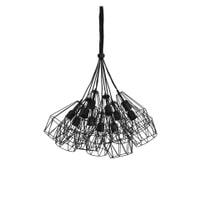 Light & Living Hanglamp 'Kobaka' 20cm, mat zwart
