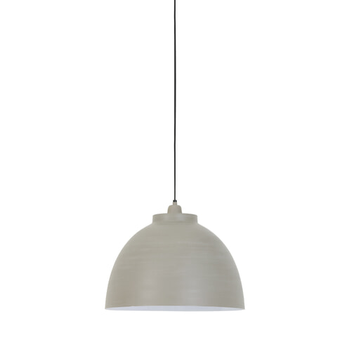 Light & Living Hanglamp 'Kylie' 45cm, beton-wit