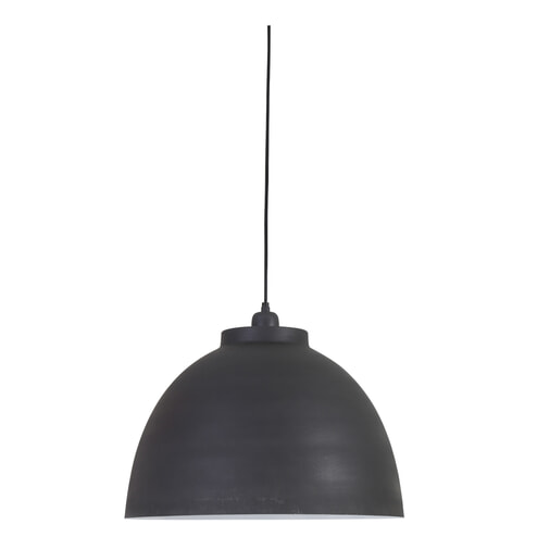 Light & Living Hanglamp 'Kylie' 45cm, grafiet-wit