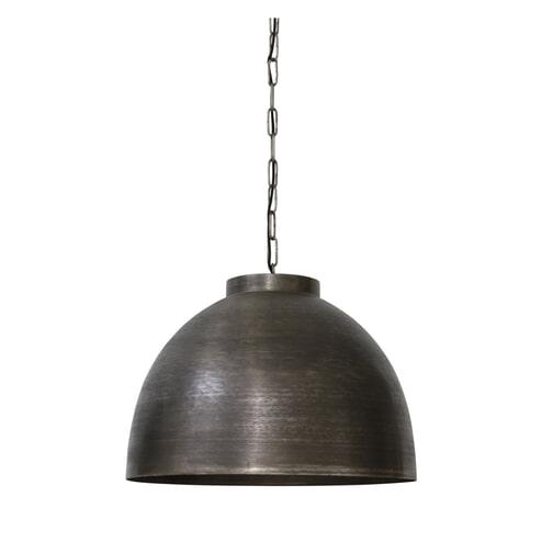 Light & Living Hanglamp 'Kylie' 60cm, donker ruw nikkel