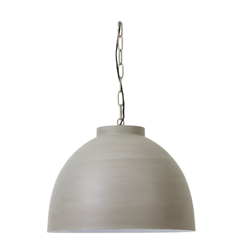 Light & Living Hanglamp 'Kylie XL' 60cm, beton-wit, kleur Beton kleur