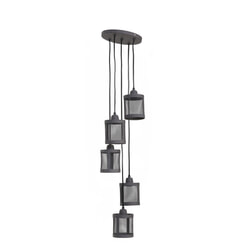 Light & Living Hanglamp 'Laetitia' 25cm, cement
