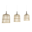 Light & Living Hanglamp 'Malakka' set van 3