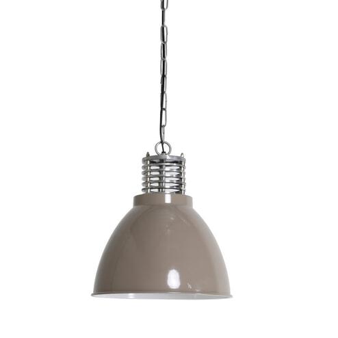 Light & Living Hanglamp 'Megan' 32cm, kleur beige