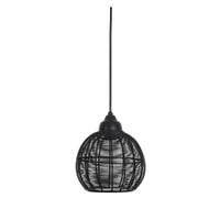 Light & Living Hanglamp 'Milla' 22.5cm, mat zwart