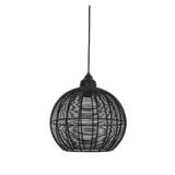 Light & Living Hanglamp 'Milla' 32cm, kleur Mat Zwart