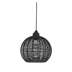 Light & Living Hanglamp 'Milla' 32cm, mat zwart