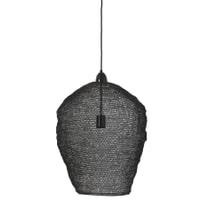 Light & Living Hanglamp 'Nikki' 45cm, gaas glans zwart