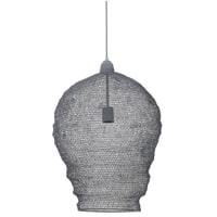 Light & Living Hanglamp 'Nikki' 45cm, gaas grijs
