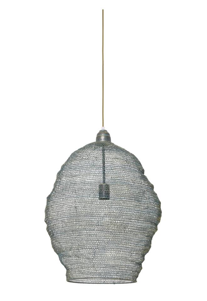 Light & Living Hanglamp 'Nikki' 45cm, gaas groen-goud
