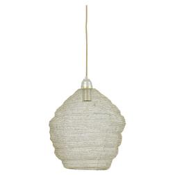 Light & Living Hanglamp 'Nina' 38cm, gaas champagne