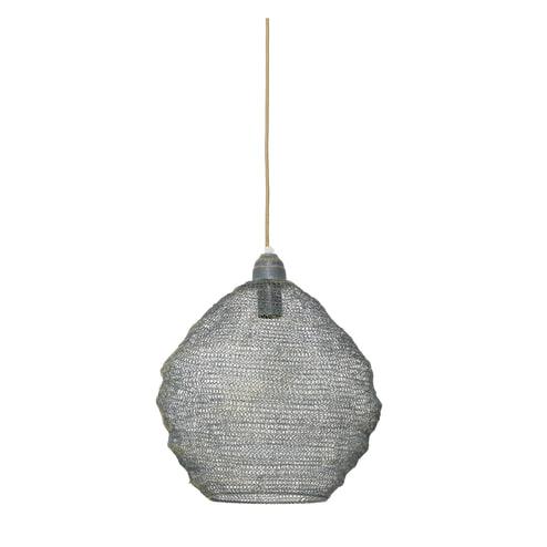 Light & Living Hanglamp 'Nina' 38cm, gaas groen-goud