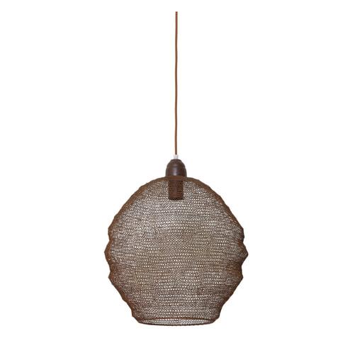 Light & Living Hanglamp 'Nina' 38cm, gaas roest