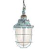 Light & Living Hanglamp 'Quarry' 21cm, kleur blauw