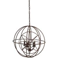 Light & Living Hanglamp 'Ruggiero' 5-Lamps, 66cm