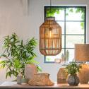 Light & Living Hanglamp 'Sunut' 38cm, rotan grijs