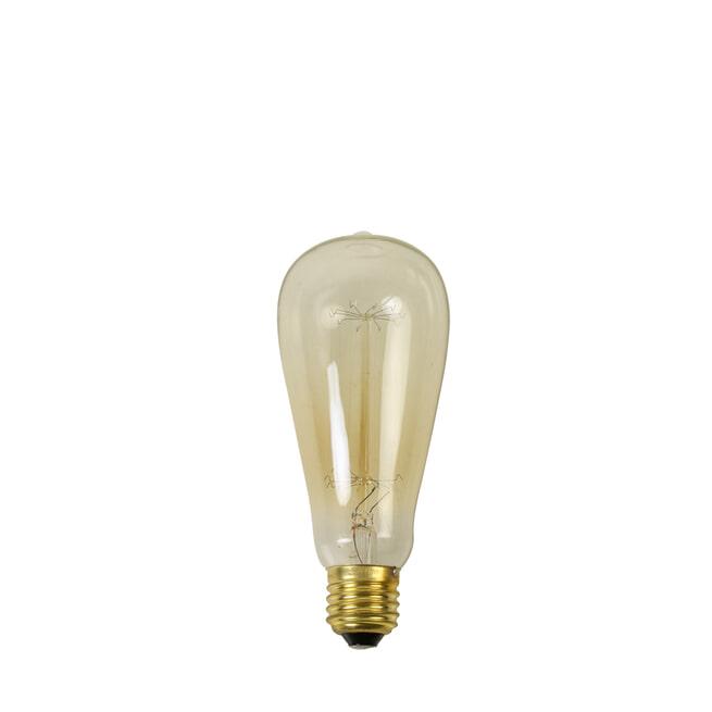 Light & Living Hanglamp 'Svana' 99x23 cm, glas zwart