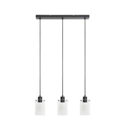 Light & Living Hanglamp 'Vancouver' 3-Lamps, kleur Mat Zwart