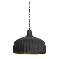 Light & Living Hanglamp 'Verena' 49.5cm, mat zwart-goud