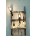 Light & Living Hanglamp 'Worker' Basket, kleur zwart