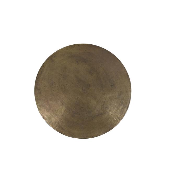 Light & Living Salontafel 'Retiro', ruw antiek brons-mat zwart