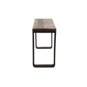 Light & Living Sidetable 'Cuenca' 120x45x80 cm, railway hout