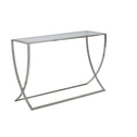 Light & Living Sidetable 'Molina', glas+nikkel