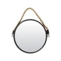 Light & Living Spiegel 'Force' Ø38 cm, brons met touw