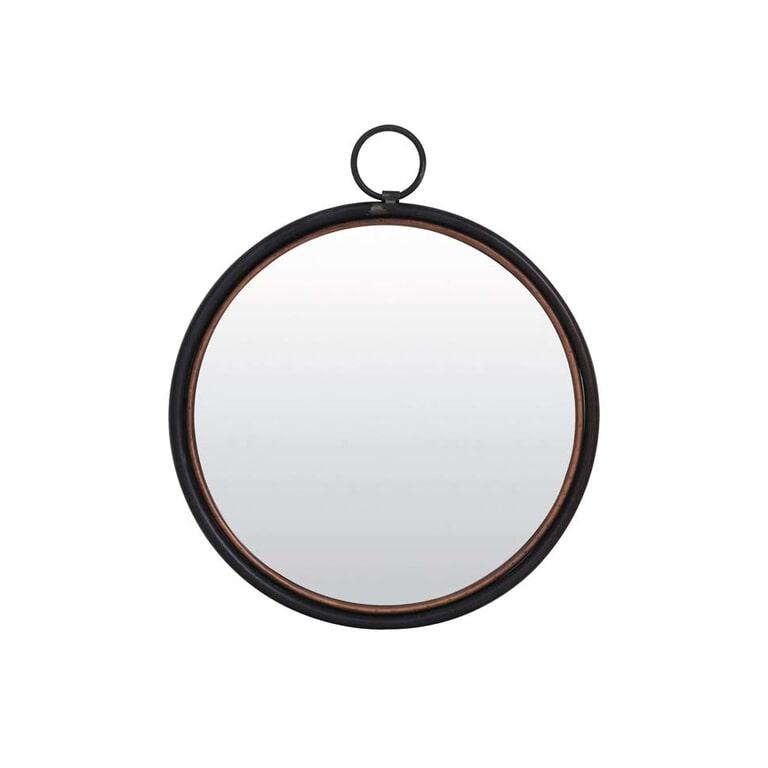 Light & Living Spiegel 'Ideal', tin koper