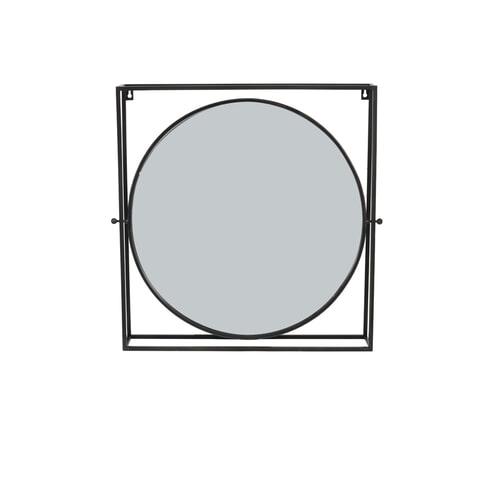 Light & Living Spiegel 'Ritual', antiek zwart+brons