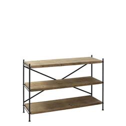 Light & Living Stellingkast 'Vinto' 3 laags, metaal+hout