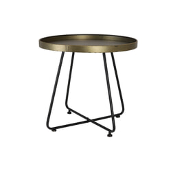 Light & Living Tafel 'Hylke', tin brons