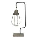 Light & Living Tafellamp 'Hidde', metaal antiek zilver
