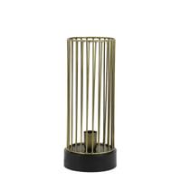 Light & Living Tafellamp 'Jorim', antiek brons-mat zwart