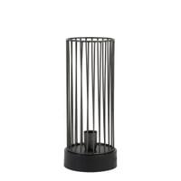 Light & Living Tafellamp 'Jorim', antiek zink-mat zwart