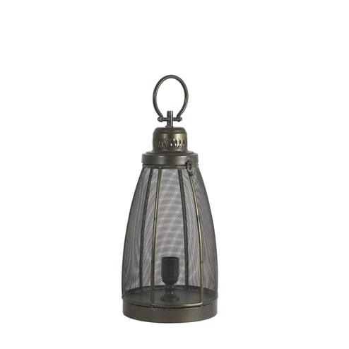 Light & Living Tafellamp 'Pruez' kleur donker brons