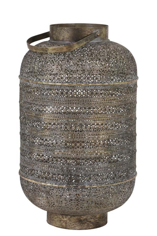 Light & Living Tafellamp 'Udupi' 61cm, bruin goud