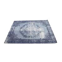 Light & Living Vloerkleed 'Durla' 160 x 230cm, kleur blauw