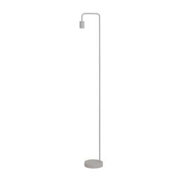 Light & Living Vloerlamp 'Cody', mat wit, kleur