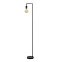 Light & Living Vloerlamp 'Cody', mat zwart incl. LED-lichtbron