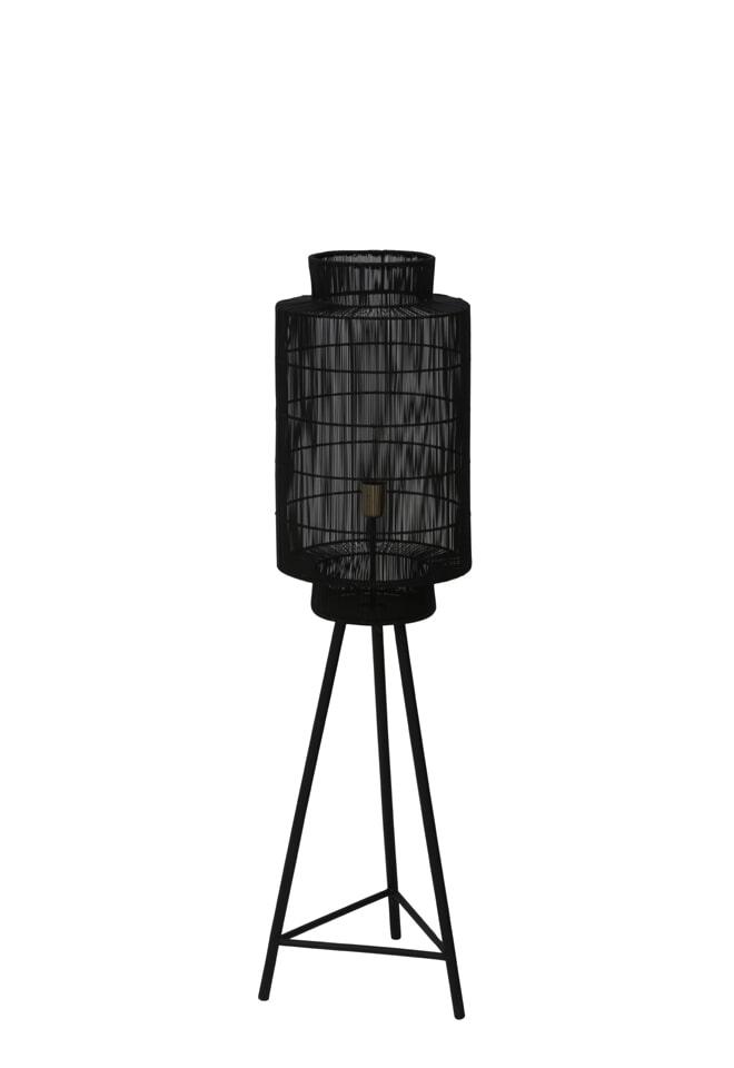 Light Living Vloerlamp 'Gruaro', mat zwart antiek brons