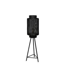 Light & Living Vloerlamp 'Gruaro', mat zwart-antiek brons